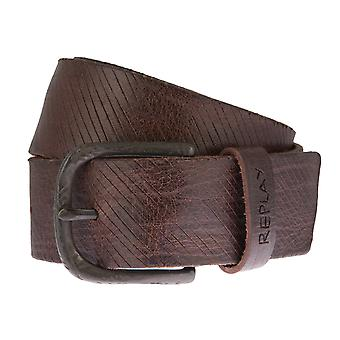 Replay belt leather belts men's belts Brown 2521