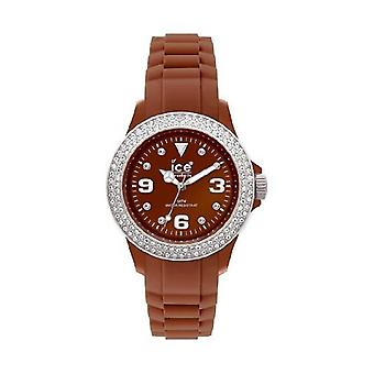 Reloj Ice-Watch Sili Piedra marrón plata Brown Dial Unisex #ST. NS. U.S.10