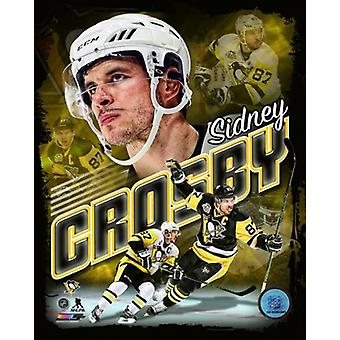 Sidney Crosby 2017 ritratto Plus Photo Print