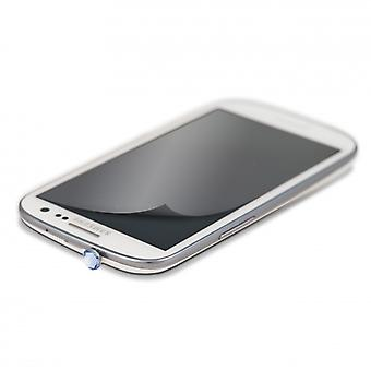 White DIAMONDS 3, 5 mm PIN Blue including Sams. S3 glitter screen protector