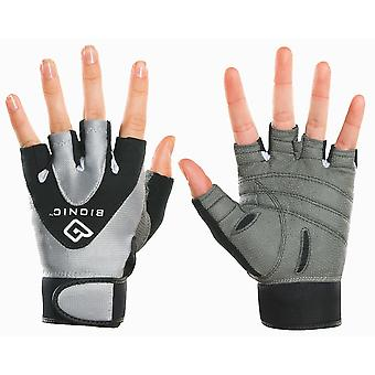 Bionic Women's StableGrip Half Finger Fitness Gloves