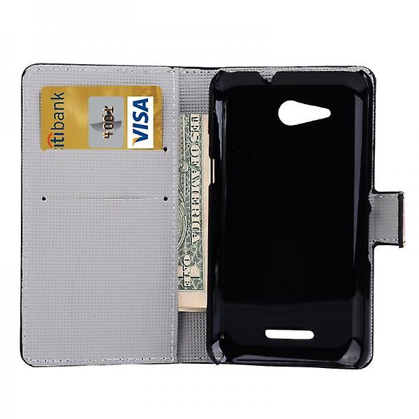 Pocket wallet premium model 41 for Sony Xperia E4G