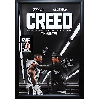 Creed -  Signed Movie Poster