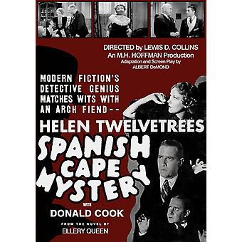 Spanish Cape Mystery [DVD] USA import