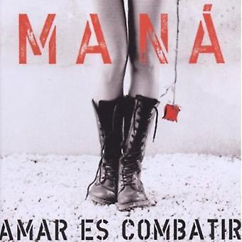 Mana - Amar Es Combatir [CD] USA import