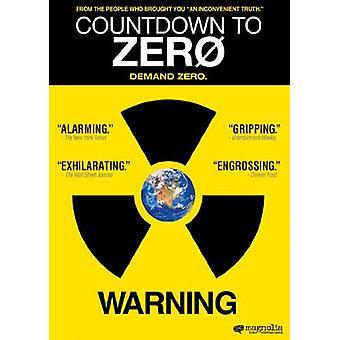 Countdown to Zero [DVD] USA import