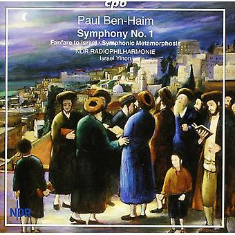 P. Ben-Haim - Paul Ben-Haim: Symphony No. 1 [CD] USA import