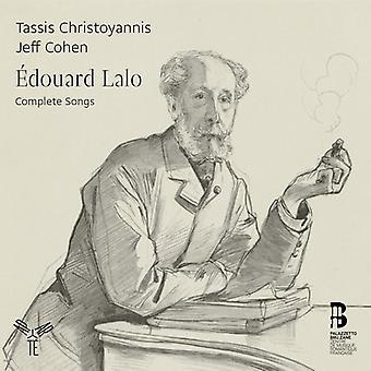 Lalo / Christoyannis, Tassis / Cohen, Jeff - Lalo / Christoyannis, Tassis / Cohen, Jeff: komplette sange [CD] USA import