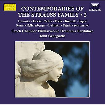 Ivanovici / Czech Chamber Orchestra Pardubice - Contemporaries of the Strauss Family 2 [CD] USA import