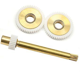 A963067NU Ideal Standard / Trevi Therm 84mm spindel Gear Box tænder Forsamling (omfatter 2 gear og spindel Gear)