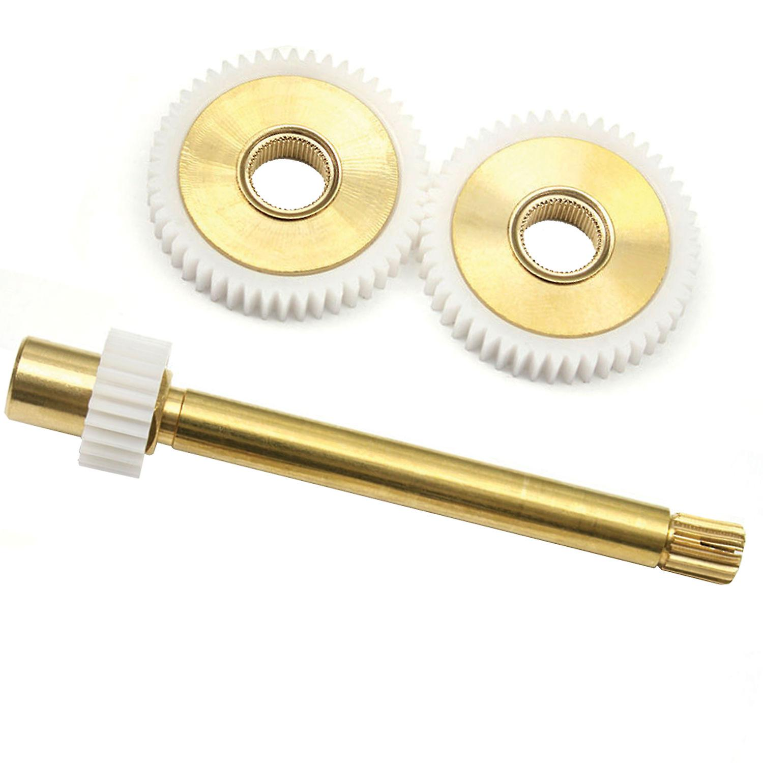 A963067NU Ideal Standard / Trevi Therm 84mm Spindle Gear Box Cogs Assembly (Includes 2 Gears and Spindle Gear)
