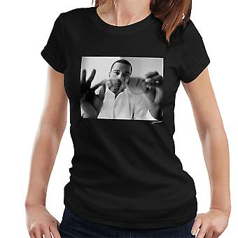 Kanye West durch Sonnenbrille Damen T-Shirt