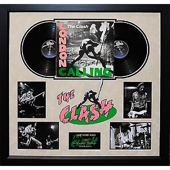 The Clash - London Calling- Signed Album