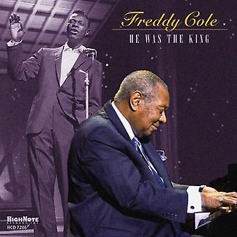 Freddy Cole - He Was the King [CD] USA import