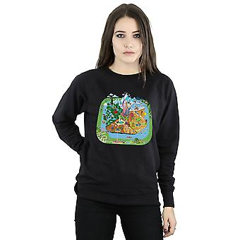 Disney Women's Zootropolis City Sweatshirt