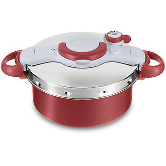 Tefal Olla Clipso Minut Duo 5L Gris y Roja
