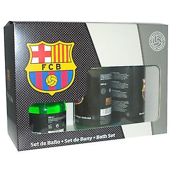 Fc Barcelona Case (500 + Shampoo Gel Soap 500 + 300)