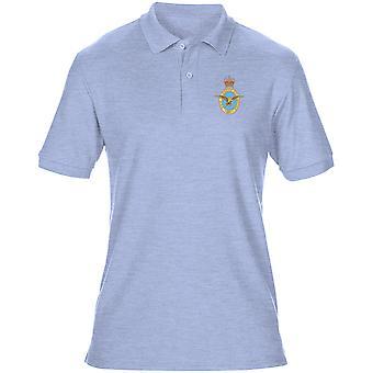 RAF Badge Per Ardva - officiell Royal Air Force Mens Polo Shirt