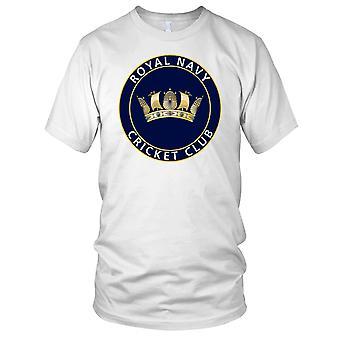 Royal Navy Cricket Club Ladies T Shirt