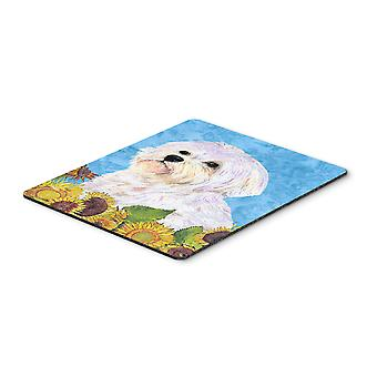Carolines Treasures  SS4114MP Maltese Mouse Pad, Hot Pad or Trivet