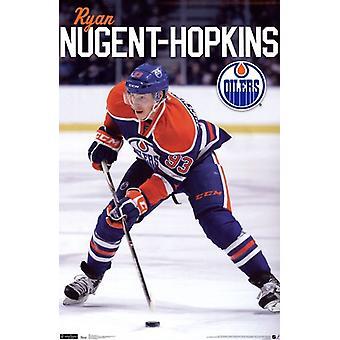 Oilers - N Hopkins 11 Poster Poster Print