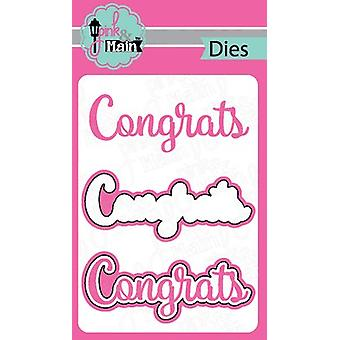 Pink And Main Dies-Congrats PNM095