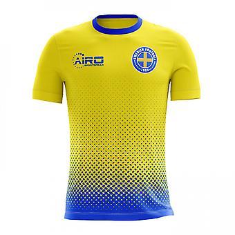 2018-2019 Zweden Home Concept voetbalshirt