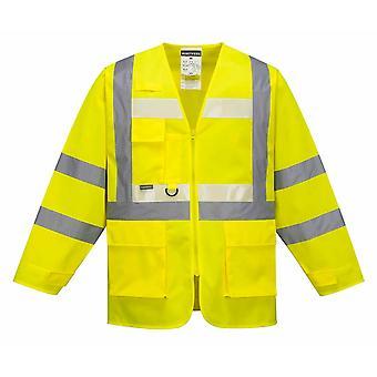 Portwest - Glowtex Vi 安全作業服エグゼクティブ ジャケット