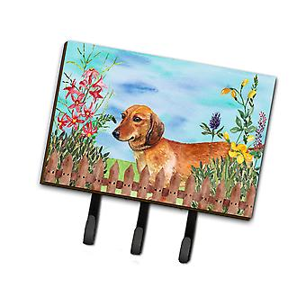 Carolines Treasures  CK1214TH68 Dachshund Spring Leash or Key Holder