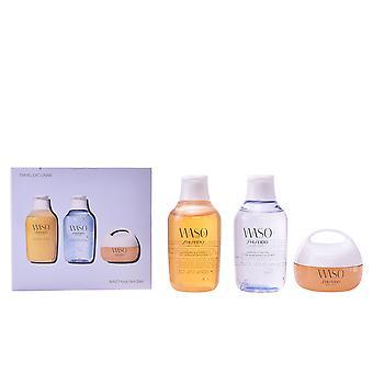 Shiseido Waso Clear Mega Hydrating Cream Set 3 PZ för kvinnor