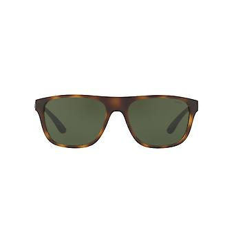 Polo Ralph Lauren Flat Top Sunglasses In Vintage Dark Havana
