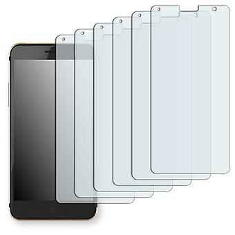 ZTE blade V7 screen protector - Golebo Semimatt protector (deliberately smaller than the display, as this is arched)