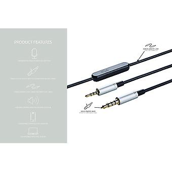 AKG 1.2m Audio Cable for AKG Series with Remot & Mic.