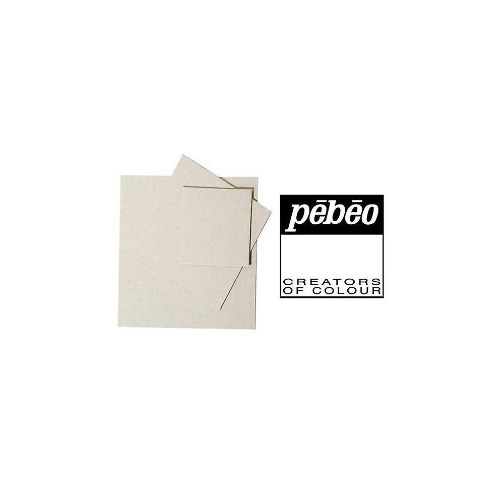 Pebeo płótnie Panel (10 X 10cm) potrójne opakowanie bawełny