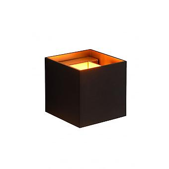Lucide XIO Wall Light Square G9/4W 380LM 2700K Black