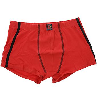 Young children of natural Boxer shorts cotton Red