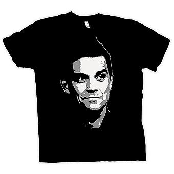 Womens T-shirt - Robbie Williams - popart