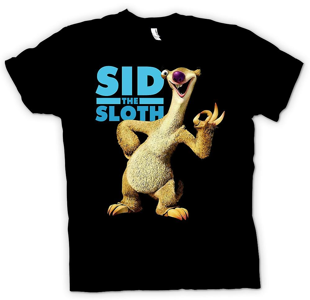 Womens T-shirt - Ice Age - Sid The Sloth