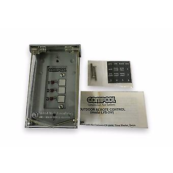 Pentair Compool LVS-3W Outdoor Remote Control LVS3W With Circuit Board 10466