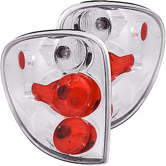 Anzo USA 211035 Dodge Caravan Chrome Tail Light Assembly - (Sold in Pairs)