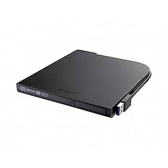 External Blu-ray writer Buffalo BRXL-PT6U2VB-EU Retail USB 2.0 Black
