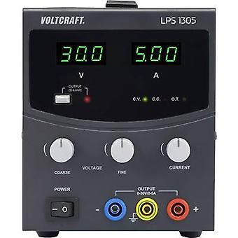 VOLTCRAFT LPS1305 Bench PSU (adjustable voltage) 0 - 30 Vdc 0 - 5 A 150 W No. of outputs 1 x