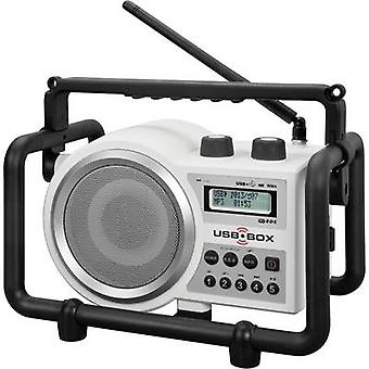 FM Workplace radio PerfectPro USB Box 2 AUX, SD, FM, USB splashp