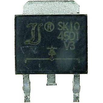 Diotec Schottky rectifier SK3045CD2 D²PAK 45 V Single
