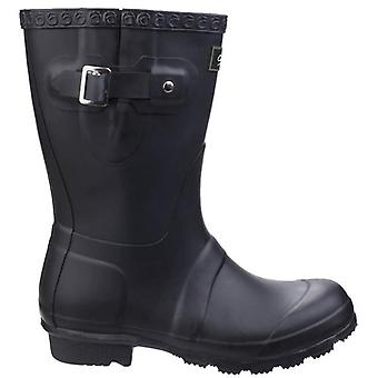 Cotswold Windsor Women's Black Short Wellington Boots