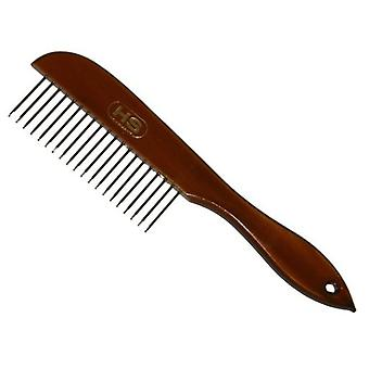 HS Sprenger Mango Wood comb 20 Tines (Dogs , Grooming & Wellbeing , Brushes & Combs)