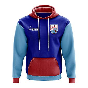Fiji Concept Country Football Hoody (Blue)