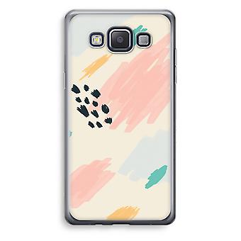 Samsung Galaxy A5 (2015) Transparent Case (Soft) - Sunday Chillings