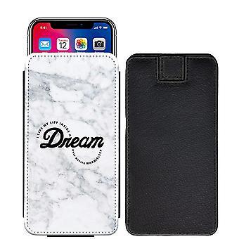 حلم الرخام مخصص تصميم سحب المطبوعة الحقيبة علامة التبويب الهاتف حالة الغطاء سوني إريكسون E5 [S]--Marble09