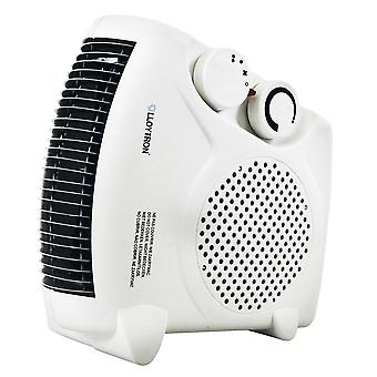 LLoytron F2003WH 2000w Fan Heater with 2 Heat Settings & Cool Blow